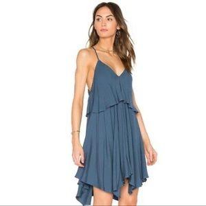 Jack by BB Dakota Auda Asymmetrical Slip Dress